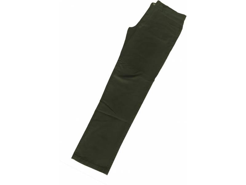 26d11127c Calça de Sarja Verde Militar c  Strech (lycra) - Masculina - 44 - 46 ...