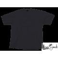 Camiseta - Gola V - Cinza Chumbo - Lisa - 100% Algodão